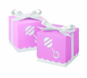 Wilton Pink Rattle Box Favor Kit 25 Count