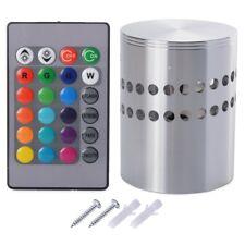 3W Lampe RGB Applique Murale Cylindre Plafonnier avex Télécommande