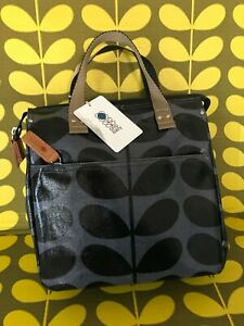 Orla Kiely Small Backpack Tote Bag