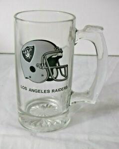 Classic L.A. Raiders Solid Glass Beer Mug