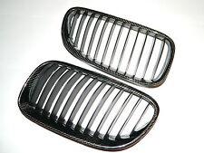Carbon Front Grill Nieren Grille Spoiler passend für BMW Carbon E92 E93 Facelift