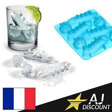 Moule / Bac à glaçons silicone en forme de TITANIC & Icebergs