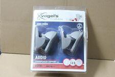 NEUF : Paire de support enceintes (max 5kg) VOGEL'S VLB50 couleur gris / argent