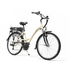 Smartway C2 Beige Bicicletta Elettrica Autonomia 50 Km
