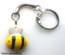 Handmade Cute Bumble Bee Keyring Gift Bag