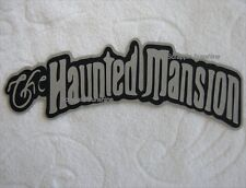 DISNEY THE HAUNTED MANSION Die Cut Title for Scrapbook Pages - SSFFDeb