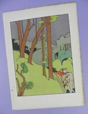 Una Geografia dell'Arca di Noè, Mabel dearmer ANTICO LIBRO stampa RIF. 8, Elefante
