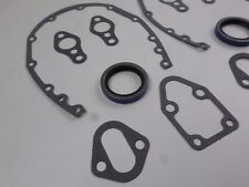 (3) Timing Cover Gaskets & Seals for SBC Chevrolet 265 283 302 305 327 350 400