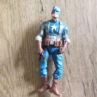 "Marvel Action Figure Captain America 2013 Hasbro 3.75"""