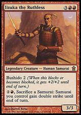 1X Iizuka the Ruthless -LP- Saviors of Kamigawa MTG Magic Cards Red Rare