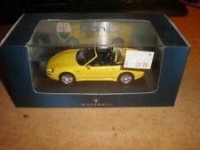 IXO 1/43 #MOC029 Maserati 3200 GT Spyder  Cambiocorsa   yellow     MIB