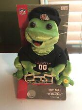 "NFL Frogz Cincinnati Bengals Animated Musical ""In da club"" New See Description"