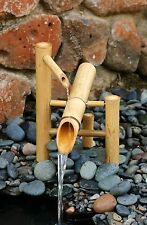 "Bamboo Rocking Water Fountain and Pump Kit- 12"" Small"
