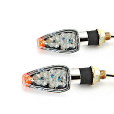 LED Turn Signals Indicator Lights Blinkers For Suzuki GSX 600 750 1100 F Katana