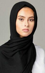 Stretchy hijab large plain lycra maxi SCARF shawl wrap warmp top quality JERSEY