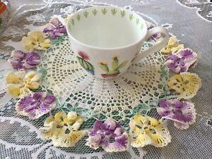 Portobello By Inspire Bone China Cautus  Coffee Tea Mug Footed