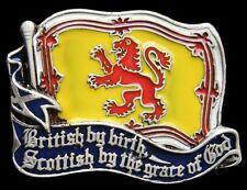Scotland Flag Belt Buckle Scottish Scots British Lion Flags Boucle de Ceinture