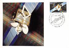 France (Télécom 1) 1984  - carte premier jour maximun