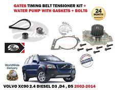 Para Volvo XC90 2.4 Diesel D3 D4 D5 2002-2014 Leva De Sincronización Cinturón y Kit de bomba de agua