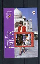 Liberia 2011 MNH Princess Diana in India 50th Birth Anniv Indipex 1v S/S Stamps