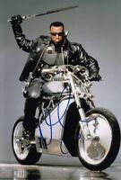 WESLEY SNIPES signed Autogramm 20x30cm BLADE in Person autograph MARVEL COA