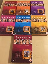 FRIENDS DVD COMPLETE SERIES - 2 4 5 7 8 9 10 DVD UK R2