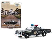 "1977 DODGE MONACO BLACK ""HATCHAPEE COUNTY SHERIFF"" 1/64 DIECAST GREENLIGHT 30152"