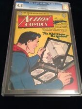 ACTION COMICS #158 CGC 4.5 Superman 1951 ORIGIN RETOLD