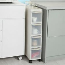SoBuy® 4 Drawers Slide Out Kitchen Cabinet, Bathroom Rack, Tower, FRG41-HG,UK