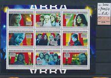 LL91850 Guinea 2010 ABBA music good sheet MNH cv 18 EUR