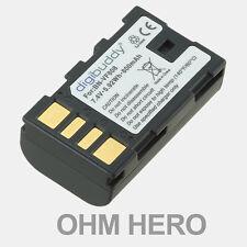 Batteria Alta Qualità EQUIVALENTE Jvc BNVF808, BN-VF808, BNVF808U, BN-VF808U,