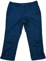 Nike Golf Tour Performance Dri-Fit Womens Capri Active Trouser Pants Size UK-10