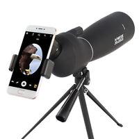 AOMEKIE 25-75X70 BAK7 Lens Waterproof Spotting Scope With Tripod & Phone Adapter