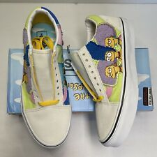 Vans X Old Skool The Simpson's Marge Patty Selma Bouvier Sisters Collectors New