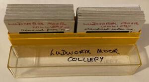 23 x Rare Vintage 35mm Photo Slides Ludworth Moor Colliery Abandoned, 1979 82 84