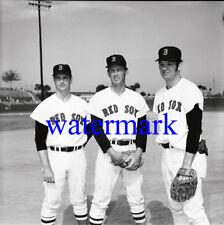 Gary Peters Sonny Siebert Ray Culp Boston Red Sox Baseball Photo Negative 120mm