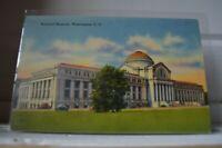 National Museum - Washington DC C 1940 Linen Postcard