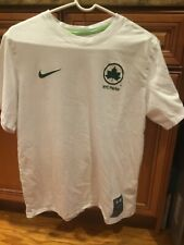 Nike X NYC Parks Collaboration White/Green T-Shirt CV7543-100 Men's Size L LARGE