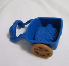 Fisher Price Little People BLUE FARM HORSE CART DONKEY Christmas Nativity Rare!
