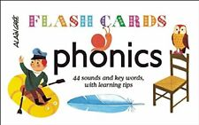 Phonics - Flash Cards 44 Sounds and Key Words, with Learning Tips