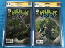 Hulk Smash #1-2 set - Marvel - CGC 9.8 NM/MT -Signed by Garth Ennis, John McCrea