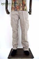 Army Tactical Ripstop Cargo Trouser Lightweight Combat Pants Stone Beige BDU