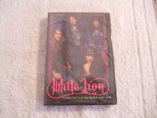 """White Lion """"Concert Anthology 1987-1991"""" 2005 DVD Deadline Records NEW Sealed"""