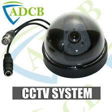 MINI BLACK DOME CCTV SECURITY CAMERA 420TVL 12V INDOOR