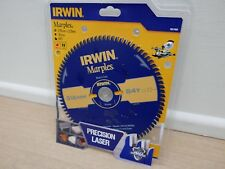 IRWIN 216MM X 30MM  84T TCT MITRE TABLE SAW BLADE PTFE NON STICK  1897468