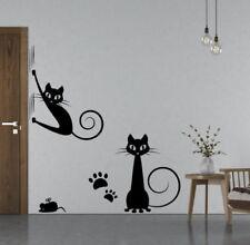 Selbstklebende Deko-Tattoos mit Katzen-Motiv