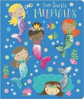 Five Sparkly Mermaids 9781789472646 | Brand New | Free UK Shipping