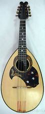 Japan MASCOT bowlback solid Spruce&Curly MAPLE Mandolin,hard case,OJMN21