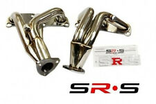 SR*S STAINLESS EXHAUST HEADER FOR Nissan Altima 02 03 04 05 06 3.5L + DOWNPIPE