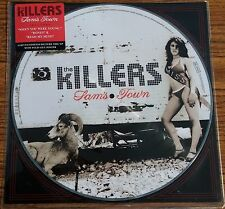 The Killers SAM'S TOWN +Poster LIMITED New Gray Rim Vinyl Picture Disc LP